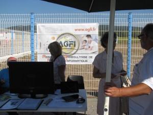 Le stand de l'AGFI